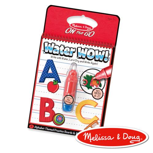 MD旅遊樂-水畫冊 | 英文字母學習A-Z