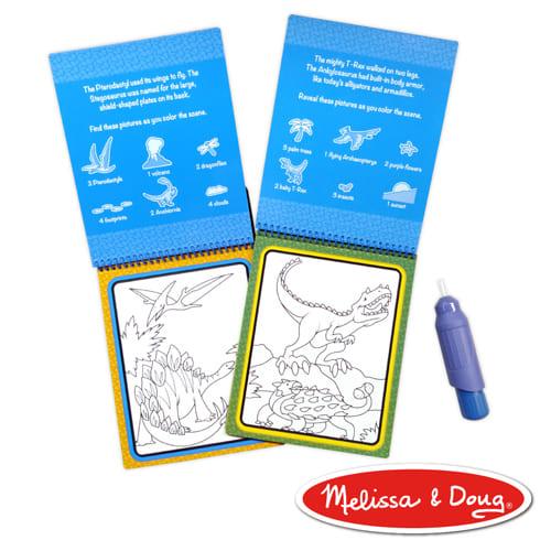 MD旅遊樂-水畫冊 | 恐龍探險