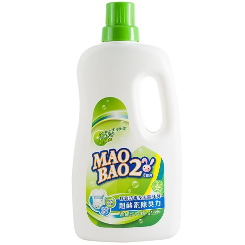 超酵素制臭抗菌防霉洗衣精1000g