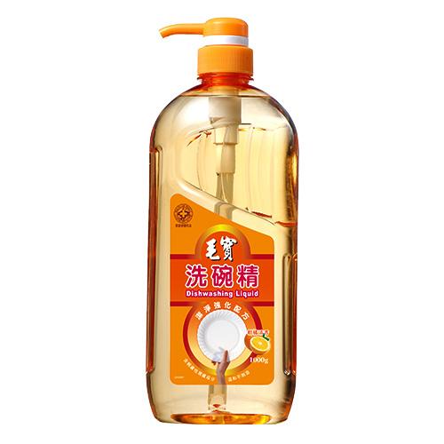 【毛寶】洗碗精-潔淨強化配方1000g (按壓瓶)