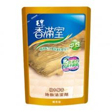 【香滿室】中性地板清潔劑補充包(檀木馨香)1800g