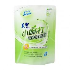 【毛寶】小蘇打液體皂1800g-補充包