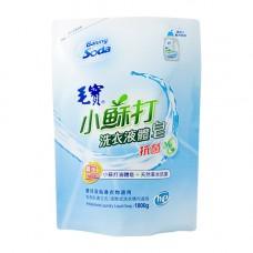 【毛寶】小蘇打草本抗菌洗衣液體皂1800g-補充包