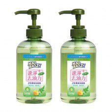 【毛寶兔】毛寶兔超護手2倍濃縮洗碗精470g(綠茶果露) x2
