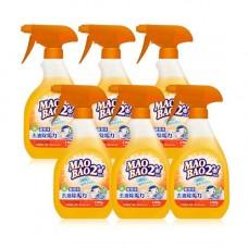 【毛寶兔】超泡沫廚房去油除垢清潔劑500g-噴槍瓶 x6