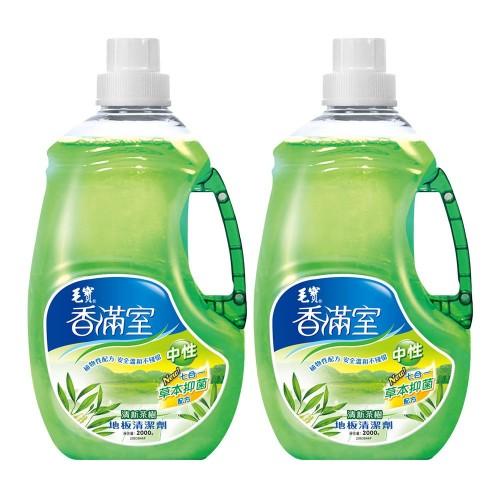 【香滿室】中性地板清潔劑(清新茶樹)2000g x2