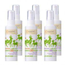 【eggshell Verda】小鹿山丘有機精油雙效防蚊液80g(甜橙精油) x3 + (迷迭香精油)x3