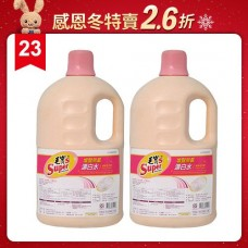 【毛寶S】增豔無氯漂白水3.6kg (清新百花香) x2