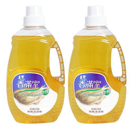 【香滿室】中性地板清潔劑2000g(檀木馨香) x2
