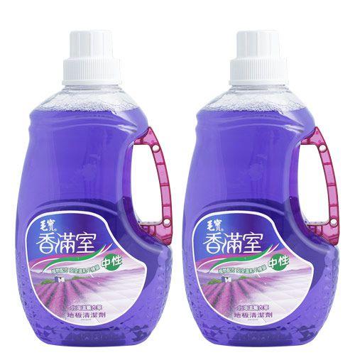 【香滿室】中性地板清潔劑2000g (北海道薰衣草) x2