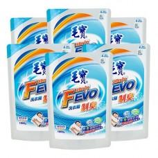 【毛寶】FEVO制臭洗衣精1800g補充包 x6-效期到2020/04