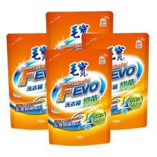 【毛寶】FEVO抑菌洗衣精1800g補充包 x4-效期到2020/01
