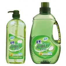 【毛寶】小蘇打洗碗精1000g(無香精)x1 + 2000g補充瓶 x1
