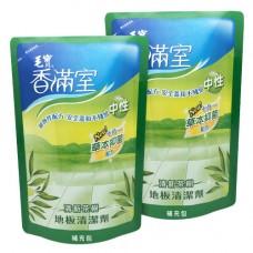 【香滿室】中性地板清潔劑(清新茶樹)補充包1800g x2