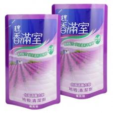 【香滿室】中性地板清潔劑(北海道薰衣草)補充包1800g x2