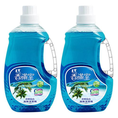 【香滿室】中性地板清潔劑2000g(海洋微風) x2