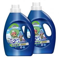 【毛寶】PM2.5天然植萃抗菌洗衣精2200g_航海王 x2