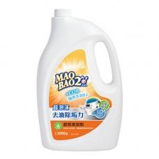 【毛寶兔】超泡沫廚房清潔劑2000g-重裝瓶