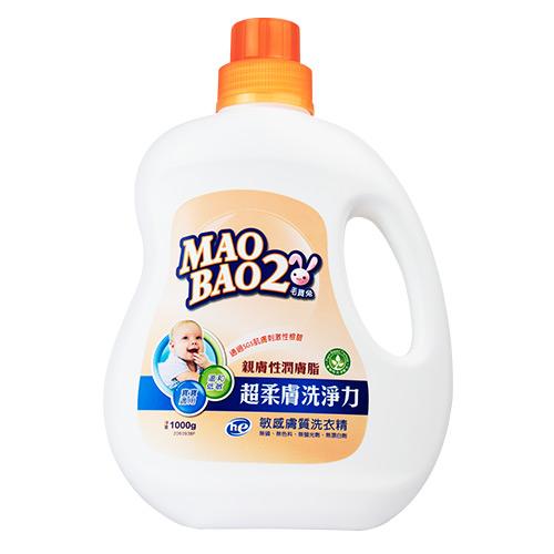 【毛寶兔】超柔膚敏感膚質洗衣精1000g
